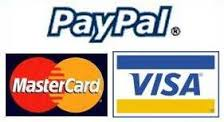 Buy with Paypal,Mastercard,Visa